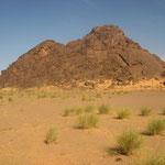 Western Sahara mountain, near Aguenit