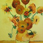 "Copia di ""Vaso con quindici girasoli"", 1888 Vincent Van Gogh"