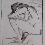 """copia di """"Sorrow"""", 1882 Vincent Van Gogh"""