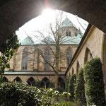 Im Kreuzgang des Essener Doms
