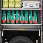 G3: Ölbindemittel, B-Schläuche, Schornstein-Werkzeugset