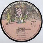 Charisma 9199 190, Holland, 1980