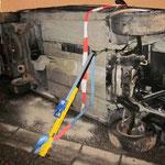 Einfache Stabilisierung des Unfallfahrzeugs mit StabFast