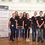 Der Literaturkurs des Gauß-Gymnasiums bei der Kick-off-Veranstaltung des Würth-Bildungspreises in Stuttgart
