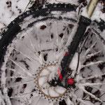 Christrosen-Tour - im Tal leichter Regen und auf der Höhe: Schnee