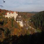 Oktobermotto: Die Fränkische Schweiz im Herbst -Burg Rabenstein