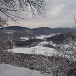 MTB-Winterwege südlich Hersbruck - Am Jungfernsprung