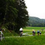 Rennradrunde über Spies