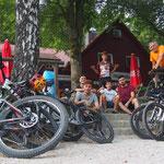 Mit den Jüngsten:  MTB-Tour zur Edelweißhütte