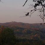 Im Herbst - Burg Hohenstein
