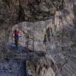 Im Gebirge, Uinaschlucht