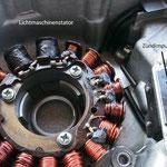 Zündimpulsgeberreparatur für Yamaha TT600  (siehe Berichte 2019)