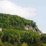 Höhenglücksteigtour - die Felsen auf der Westseite