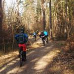 Tennenloher Forst – guided von zwei charmanten Mädels
