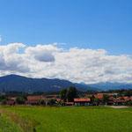 München Garmisch (Blick ins Voralpenland)