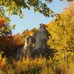Oktobermotto: Die Fränkische Schweiz im Herbst - Hohe Reute