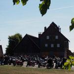Motorradtouren in der Fränkischen Schweiz - Kathi-Bräu, der Bikertreff