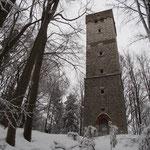 MTB-Winterwege südlich Hersbruck - Am  Arzbergturm