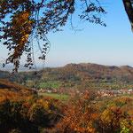 Oktobermotto: Die Fränkische Schweiz im Herbst - Blick zum Walberla
