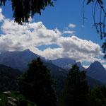 München Garmisch (Am Ziel, hoch über Garmisch: Alpspitze, Zugspitze, Waxensteine)