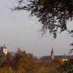 Oktobermotto: Die Fränkische Schweiz im Herbst - Burg u. Basilika Gößweinstein