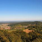 Ausblick vom Ossingerturm