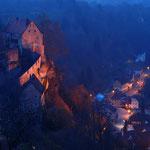 Novembermotto: Nightrides - Burg Pottenstein