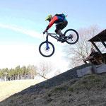 Mit Trailscout Simon im Bikepark