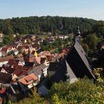 Motorradtouren in der Fränkischen Schweiz - Blick auf Waischenfeld