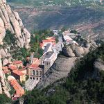 Visite du Monastère de Montserrat: à 2h30mn par autoroute.