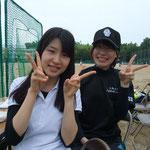 みのりさん&亜美さん。
