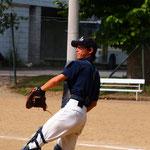 野球部時代は捕手でした。