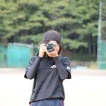 本日のカメラマン。