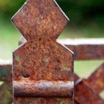 Détail de portail caussenard Espédaillac