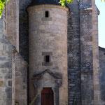 Détail de l'église Espédaillac