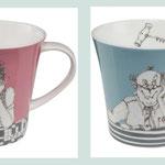 Entwürfe für die Porzellanfirma Goebel