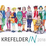 Illustrationen für den Krefelder Frauenkalender 2017 und 2018