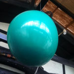 Aniversário na Chupana:お子さんの誕生会 大きな風船の中には置かしが入っています