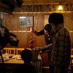 『とびっきり食堂』撮影風景: Picanha(ピカンニャ:イチボ)を切り落とすシーン