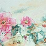 November Roses 8 in. x 15 in. - 50 x 20 cm - 280,00 Euro