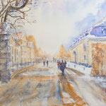 Winterday at the Royal Garden of Herrenhausen,  21 in. x 14 in. - 51 cm x 36 cm - 420,00 Euro
