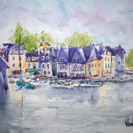 Auray, Port de Saint Goustan, 19 in. x 14 in. - 48 cm x 36 cm - 380,00 Euro