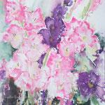 Gladioli 2, 14,2 in. x 18,9 in. - 36 x 48 cm - 400,00 Euro