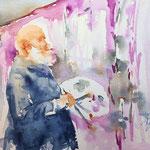 Sketching Monet  19 x 28 cm -  420,00 Euro