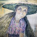 Yangshuo Lady 30 in. x 22 in. - 76 x 56 cm  - 960,00 Euro