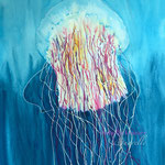 Lion's Mane Jellyfish 18 in. x 24 in. - 46 x 61 cm  - 140,00 Euro