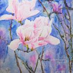 Magnolia Spring's Eye Cathcher - 15 in. x 15 in. - 38 x 38 cm - 320,00 Euro