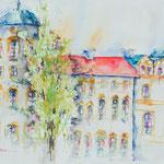 Castle Celle, South Side, 24 in. x 18 in. - 61 x 46 cm - 520,00 Euro