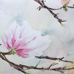 Dance with the Spring Wind -  7,9 in. x 19,7 in. - 20 x 50 cm- 280,00 Euro