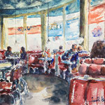 Diner Moments, 16 in. x 12 in. - 41 x 31 cm - 380,00 Euro